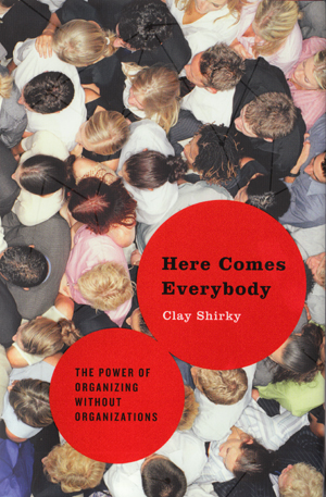 Book cover Here Comes Everybody